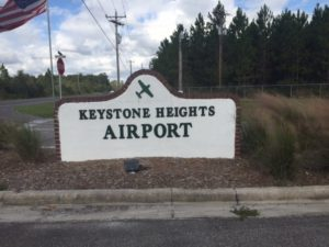 Keystone Airport Sign